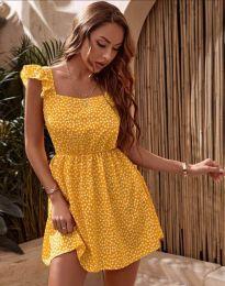 Фустан - код 6525 - жолта