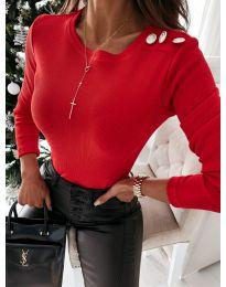 Блуза - код 4244 - црвена