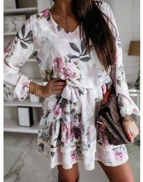 Фустан - код 105 - бела