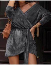 Фустан - код 238 - темно сива
