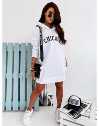 Фустан - код 802 - бело