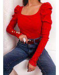Блуза - код 11517 - црвена