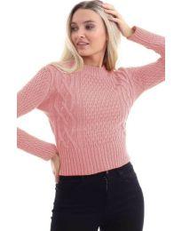 Блуза - код 145 - пудра