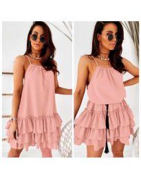 Фустан - код 451 - розова
