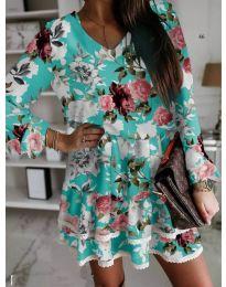 Фустан - код 105 - тиркизна