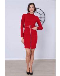 Фустан - код 2053 - 3 - црвена