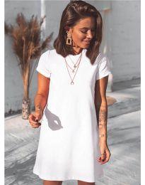 Фустан - код 2299 - бело