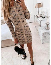 Фустан - код 0598 - кремова