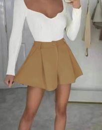 Кратки панталони - код 1455 - капучино