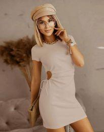 Фустан - код 8556 - кремова