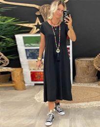 Фустан - код 6357 - 1 - црна