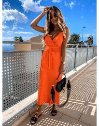 Фустан - код 547 - портокалова