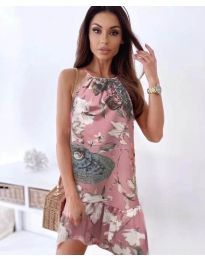 Фустан - код 7027 - пудра