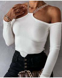 Блуза - код 12050 - бела
