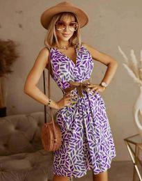 Фустан - код 5488 - 4 - шарена