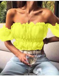Блуза - код 060 - жолта