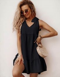 Фустан - код 7206 - црна