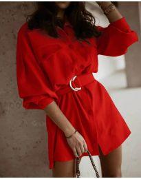 Фустан - код 6461 - црвена