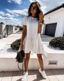 Фустан - код 11890 - бела