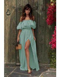 Фустан - код 3336 - тиркизна