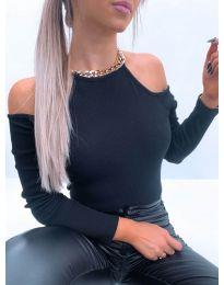 Блуза - код 4191 - црна