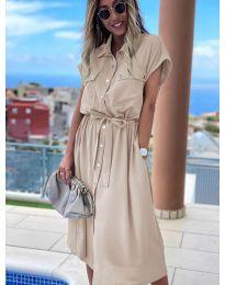 Фустан - код 0014 - кремова
