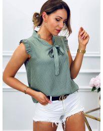 Блуза - код 300 - зелена