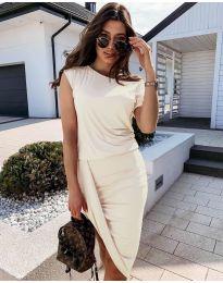 Фустан - код 138 - кремова