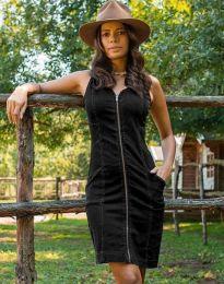 Фустан - код 7735 - 2 - црна