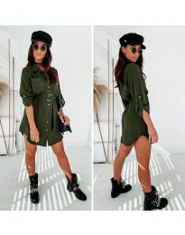 Фустан - код 976 - путер зелена
