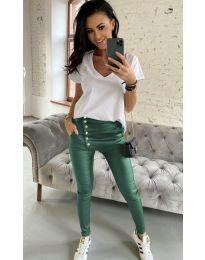 Панталони - код 954 - путер зелена