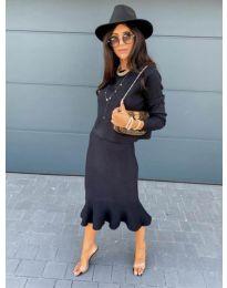 Фустан - код 1030 - црна