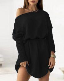 Фустан - код 6940 - црна