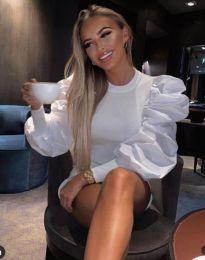Блуза - код 3506 - бела