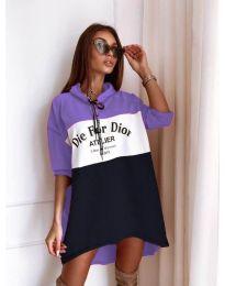 Фустан - код 9090-6 - шарено