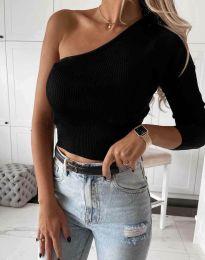 Блуза - код 0893 - црна