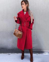 Палто - код 3784 - црвена
