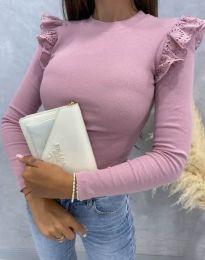 Блуза - код 1663 - розова