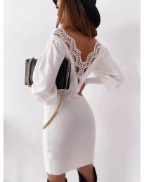 Фустан - код 1718 - бело