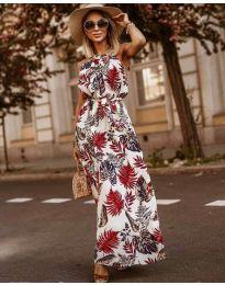 Фустан - код 2598 - бело