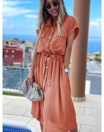 Фустан - код 0014 - праска
