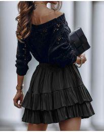 Сукња - код 4122 - црна