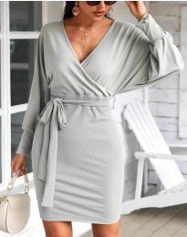 Фустан - код 1197 - сиво