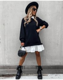Фустан - код 5516 - црна