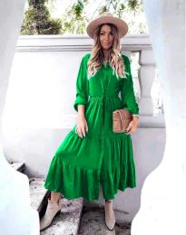 Фустан - код 6522 - зелена