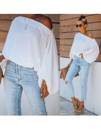 Блуза - код 5151 - бела