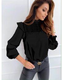 Блуза - код 6202 - црна