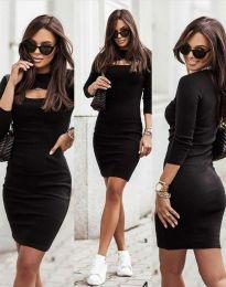 Фустан - код 7376 - 2 - црна
