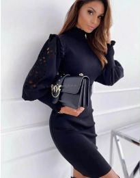Фустан - код 1638 - 3 - црна