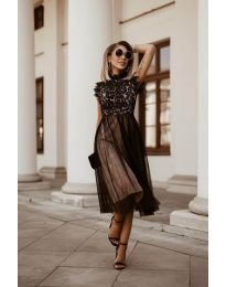 Фустан - код 8090 - црна